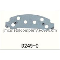 Steel Back Plate for Auto / Stamping Brake Pad / Brake Pad Stamping