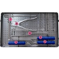Titanium cage instrument kit