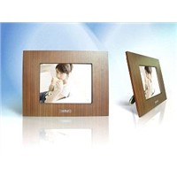 Wood Material Digital Photo Frame