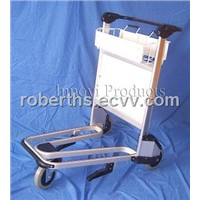 aluminum airport luggage cart