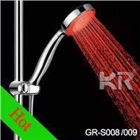 Chrome Polished LED Hand Held Shower Head