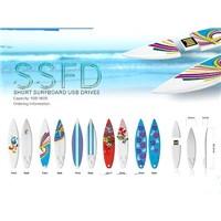 Colorful Surfboard USB Pen Drive