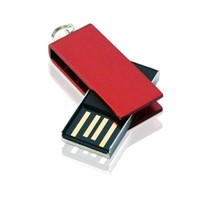 Cusotm Mini Swivel USB Flash 1GB --32GB