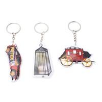 Custom Promotion Gift - Light PVC LED Key Chain