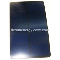 5.5v 320mA 124*76 sun power efficient and frosted solar panel