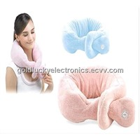 Massage Scarf, Soft Material Neck Massager, Fleecy Neck Massager GL-805