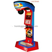 Punch Bag Boxing Game Machine (Outfit Coca Cola)(Hominggame-Com-072)