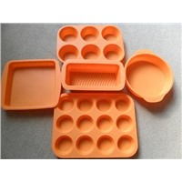 2012 Hot sell silicone bakeware set