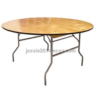 wooden restaurant table