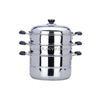 Food steamer, steam pot, High quality stainless steel pot