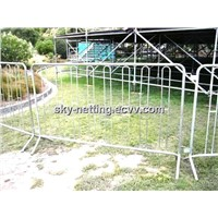 38mm Frame Size 12mm Infill Pickets Hot-Dipped Galvanized Control Barrier (Sgs Certificate)