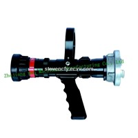 Automatic flow rate adjust fire nozzle