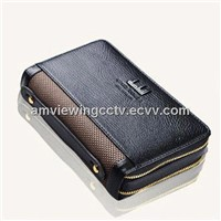 Covert Leather portable Bag Hidden Camera DVR