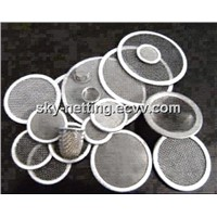 Filter Mesh / Perforated Metallic Filter / Industrial Disk Filter