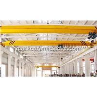 LDA model overhead crane hot selling in Brazil