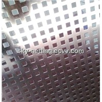 Punching Mesh / Perforated Metal Mesh Direct Factory Round Hole Galvanized