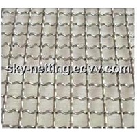 Stainless Steel Crimped Wire Cloth / Barbecue Wire Mesh