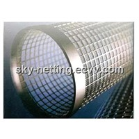Stainless Steel / Galvanized Perforated Sheet Metal