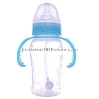 240ml wide caliber silicone feeding bottle