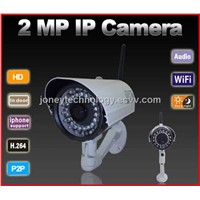 2 Megapixels Outdoor WiFi IP Camera