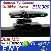 5.0 MP Camera and Dual Mic Dual Core Android TV Camera  EU3000