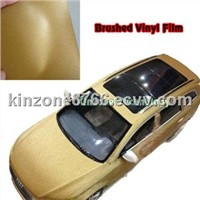 Brushed Bubble Car Body Wrap Vinyls/Air Free