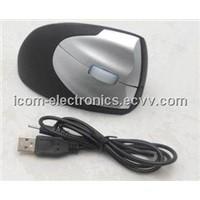 Extra-iron rRecharegable Ergonomic Vertical Mouse,  wireless optical mouse