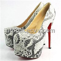 Christian Louboutin ladies high heel dress shoe women's shoes