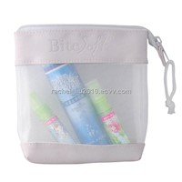 Cosmetic bag, mesh cosmetic bag, PU bag, promotion bag, make up bag, toiletry bag, PU cosmetic bag