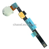 Original earphone jack flex cable  Replacement Spare parts For Apple Ipad mini White