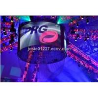P15.625 indoor full color display flexible led screen