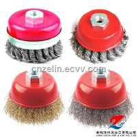 Steel Crimped Wire Cup Brush