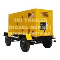 Trailer Diesel Generator Set