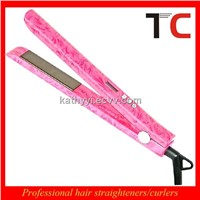 best animal print hair straightener with mch heater
