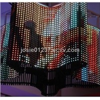 ll color 20mm indoor large flexible led screens
