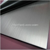 201 304 316 Hairline Stainless Steel Sheet