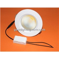 5 inch LED Downlight 15W COB Sources 185mm 1400LM
