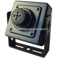 700tvl Button Pinhole Lens Miniature CCTV Camera, with Audio,Model:av-m134cxepu