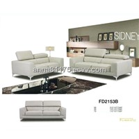 FD2153B chair,love,sofa half leather full leather sofa for living room
