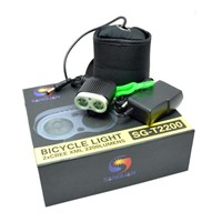 10W LED Bicycle Light Battery Powered Lamp Bike