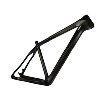 1110g 26er carbon frame 390/440mm for mountain bike