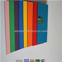 1250mm*3200mm hot sale size aluminium clad composite panel