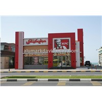 15 Years Color Warranty PVDF Outdoor Wall Decoration Aluminum Composite Panel