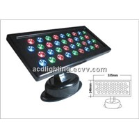 36*1/3 LED Outdoor Wall Washer Light, Waterproof LED Flash Light, LED Stage Washer