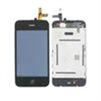 3.5 Inch Replace Iphone LCD Screen For IPhone 3G , Mobile Phone Replacement Screen