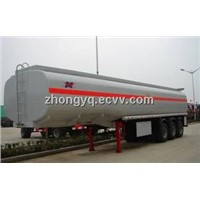 3 axle 38000 Liters fuel tanker semi trailer (38CBM)