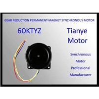 AC Synchronous Motor 60KTYZ RATED VOLTAGE 220V 110V