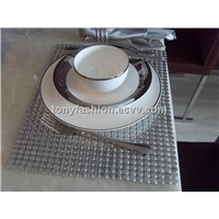 Aluminum Metal Mesh Table Runner