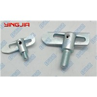 Anti-luce fastener with lock nut