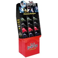 B-010 Pocket Colorful Cardboard Display Stands for cap